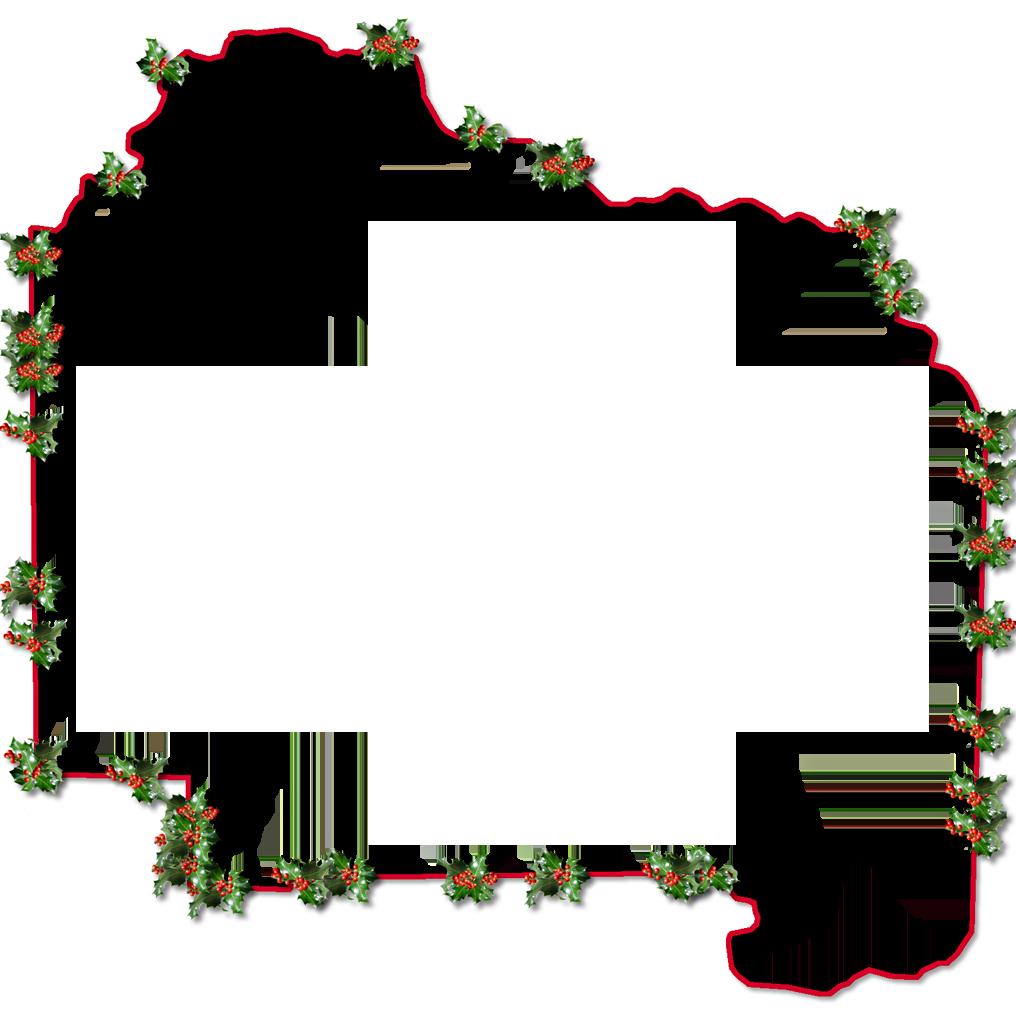 Christmas Holly Border...