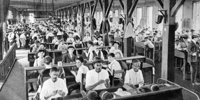 Cigar Factory Workers