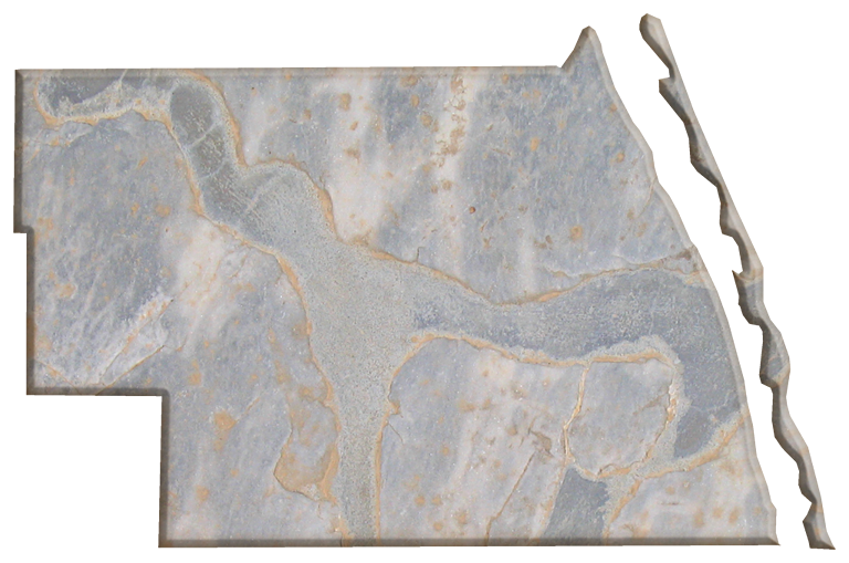 Indian River Florida Map.Indian River Fun Style Maps 16 Grey Tan Marble