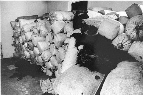 老照片:二战犹太人集中营(图)