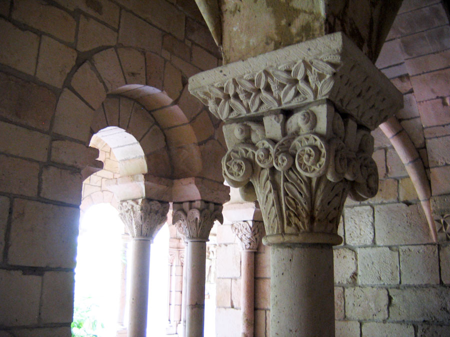 Columns And Arches In Chapter House