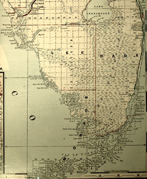 Map Of South Florida S - Map of south florida