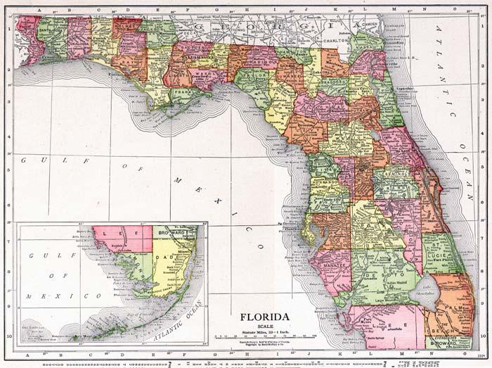 Http Geology Com Cities Map Florida Shtml