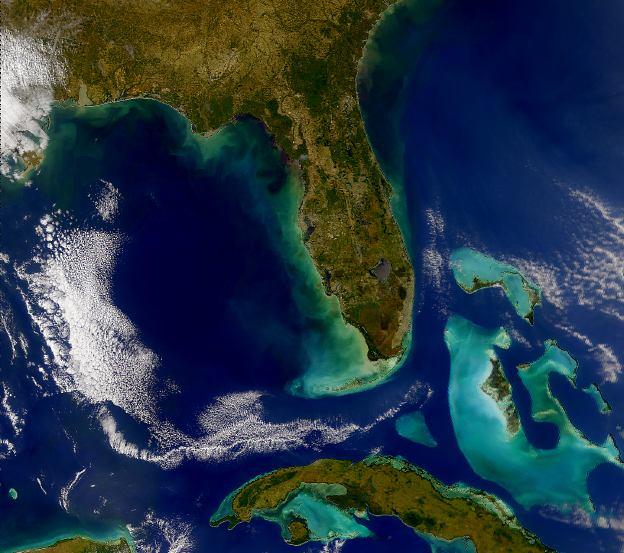 Aerial Map Of Florida Exploring Florida Map