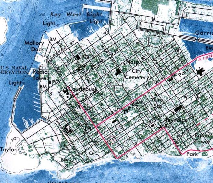 Exploring Florida Map