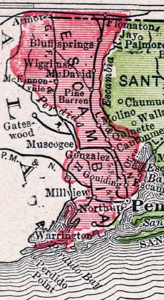 Escambia County, 1917