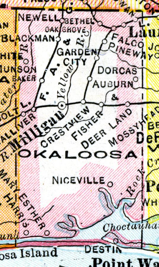 Okaloosa County 1921