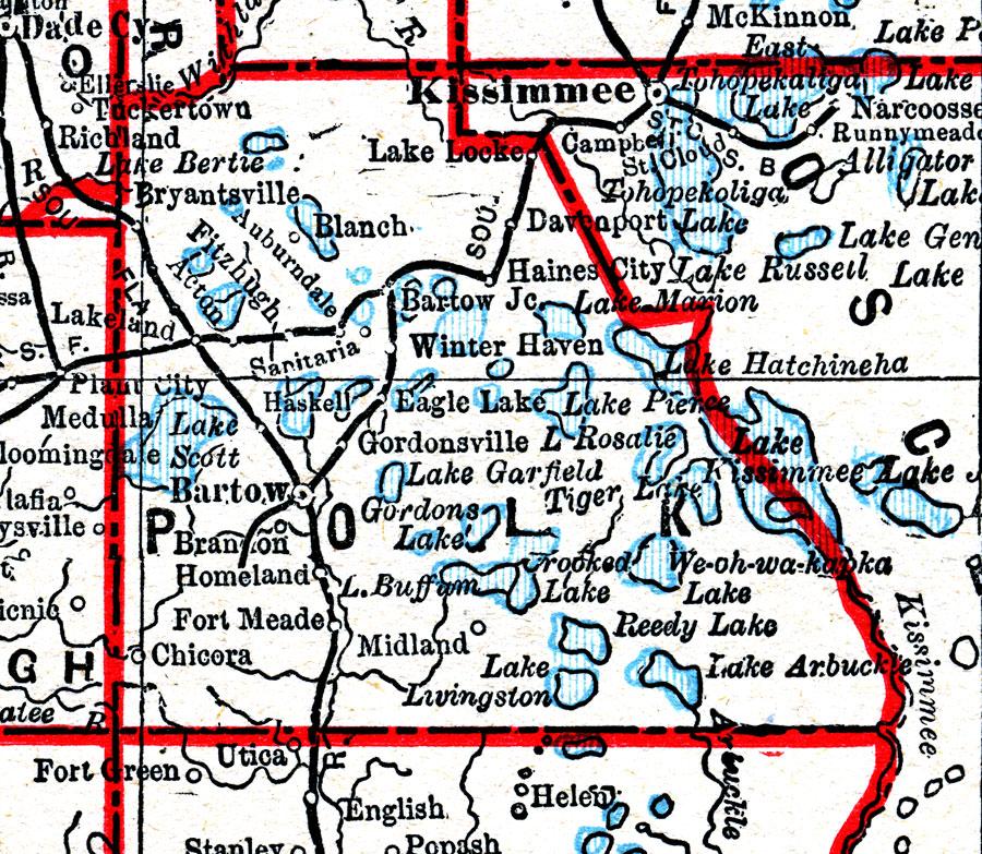 1918 Plat Map - County Auditor - Polk County Iowa   Polk County Gis