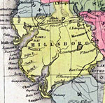 Florida Maps Hillsborough County - Hillsborough county map