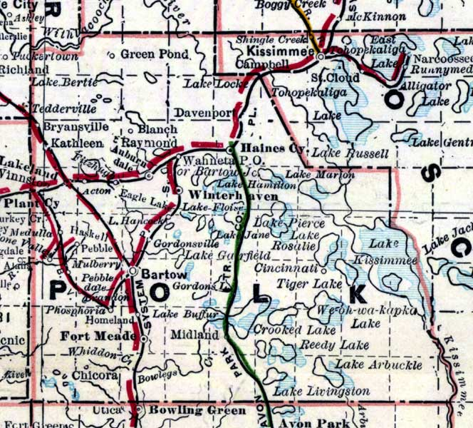 Polk County 1889