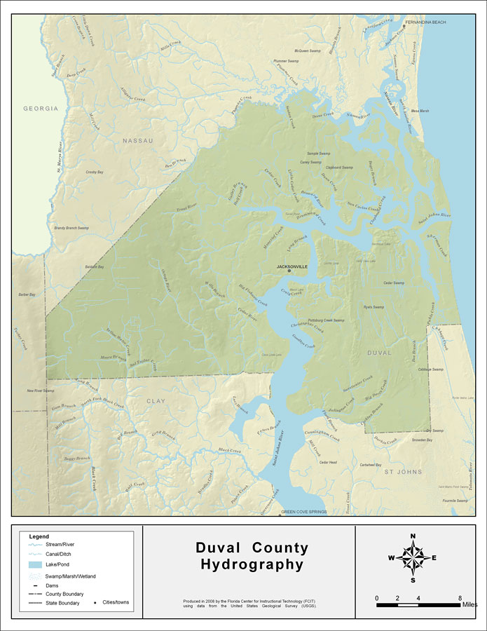 Florida Waterways: Duval County, 2008