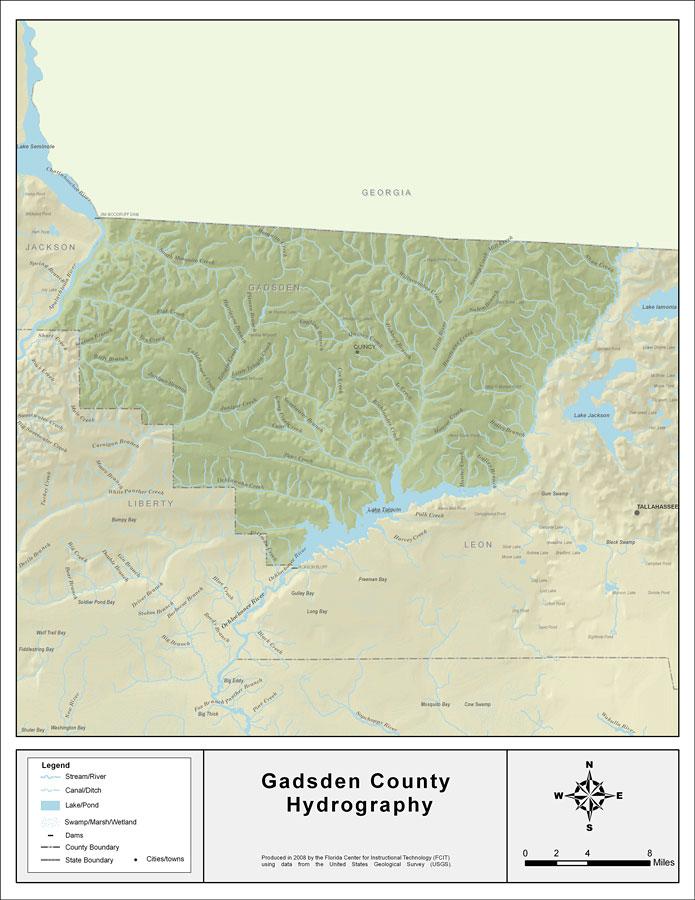 Florida Waterways Gadsden County 2008