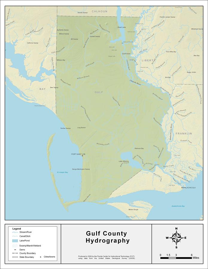Florida Waterways Gulf County 2008