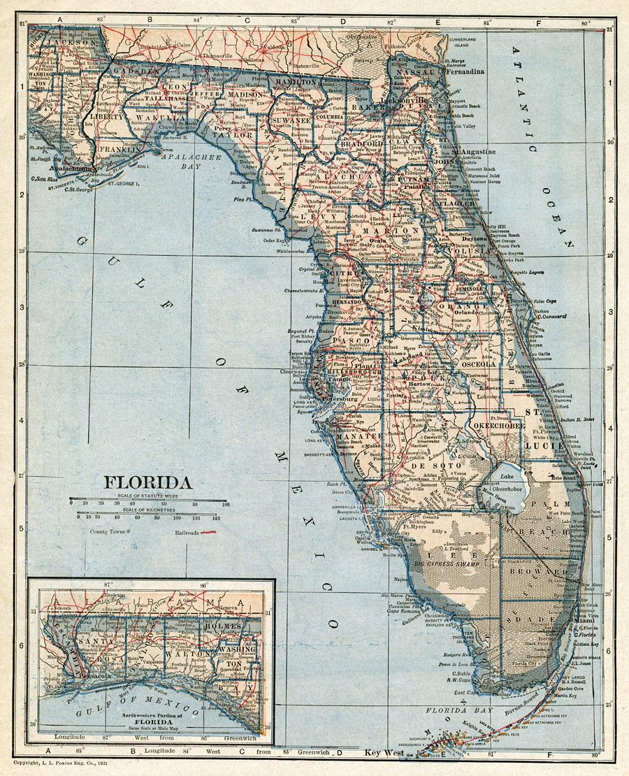 Florida 1921 gumiabroncs Image collections