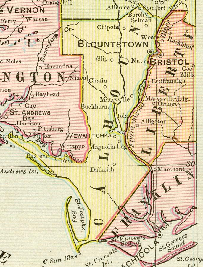 Calhoun County 1899