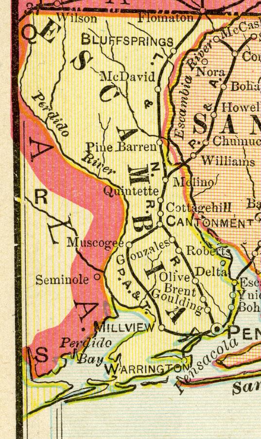 Escambia County 1899