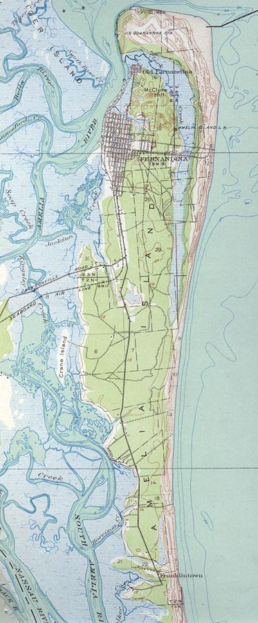 Amelia Island, 1919