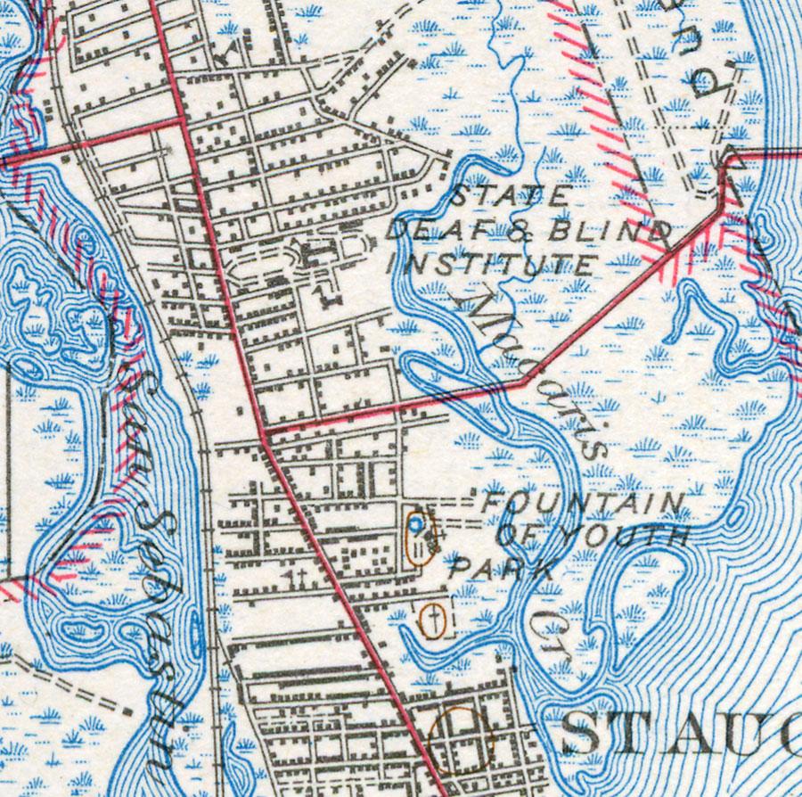 North St Augustine 1943