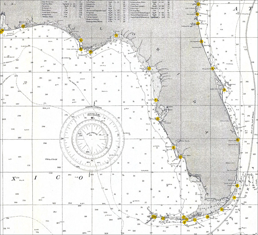 Gulf of Mexico 1905