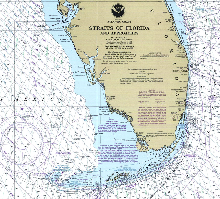 Straits of Florida and Approaches 2000