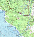 Florida Road Map With Counties.Florida Maps Dixie County