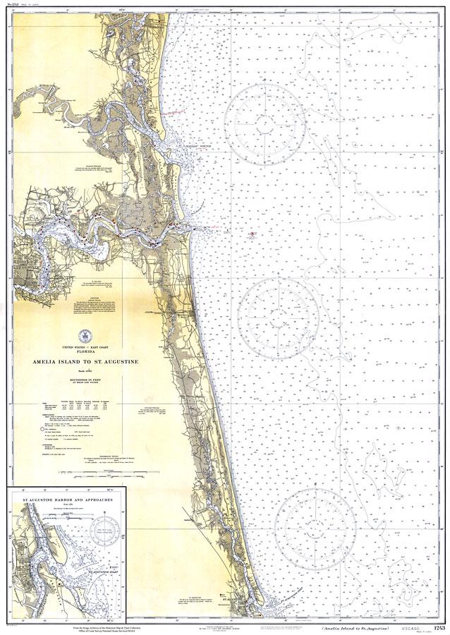 Amelia Island To St Augustine 1933