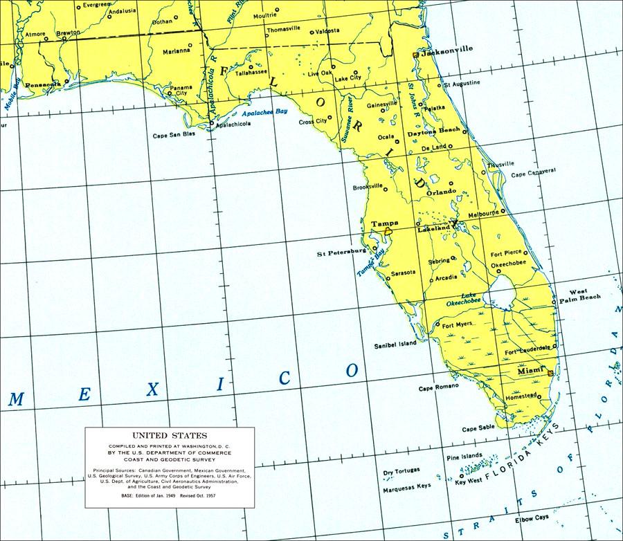 1924 RADIO STATION MAP West Palm Beach Miami FL Memphis Lawrenceburg TN ITS HUGE
