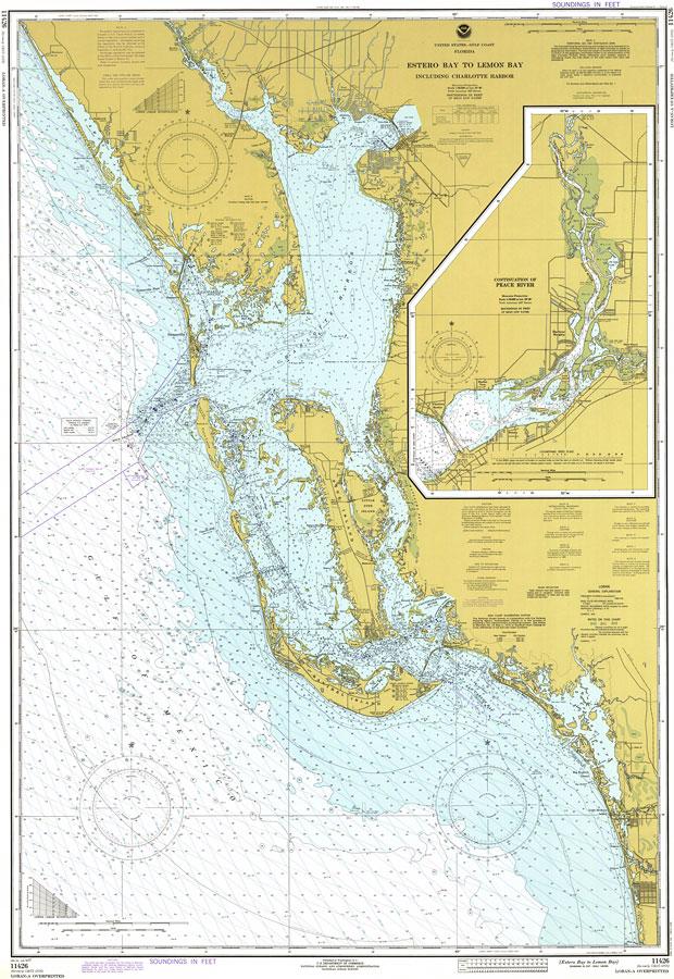 Estero Bay to Lemon Bay Including Charlotte Harbor 1977