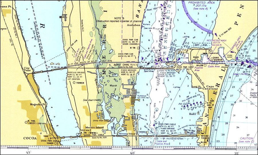 Where Is Merritt Island Florida On The Map.Merritt Island 1977