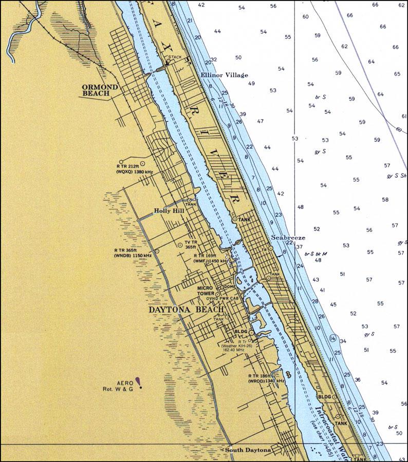 Ormond Beach to Daytona Beach, 1978