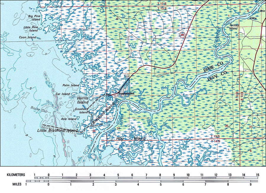 Suwannee River Area 1978