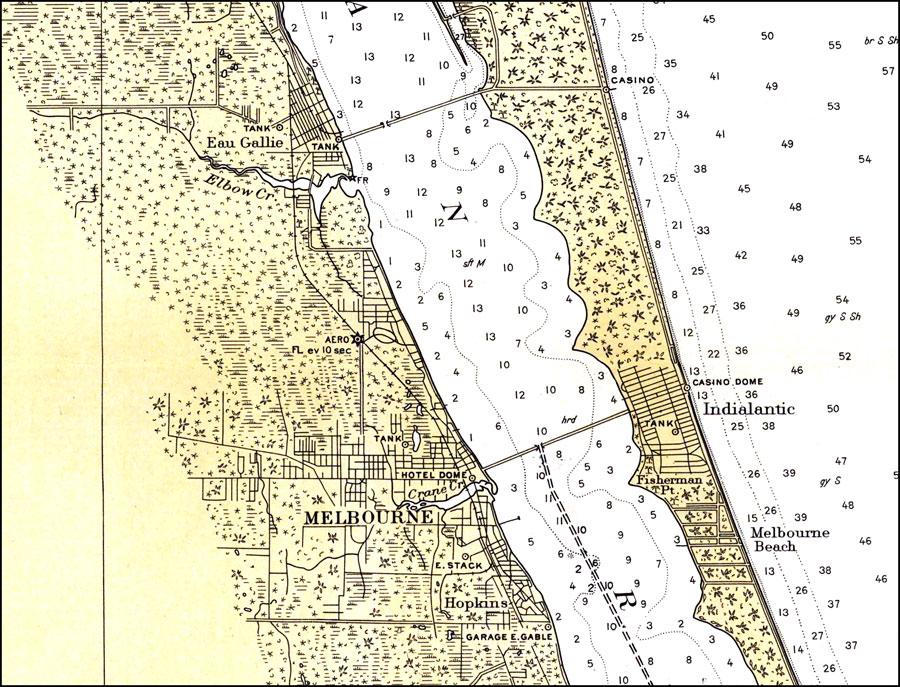 Melbourne Florida 1932