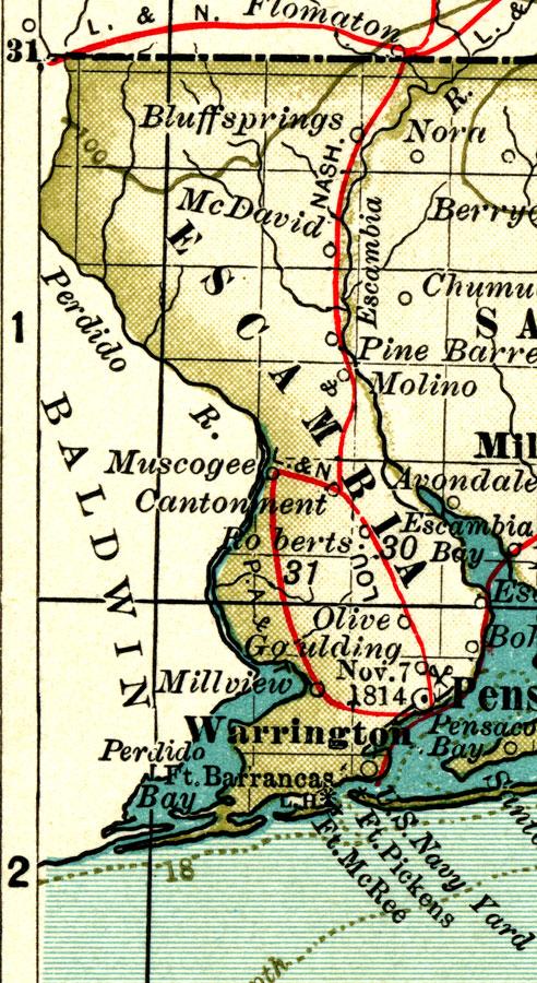Escambia County 1897