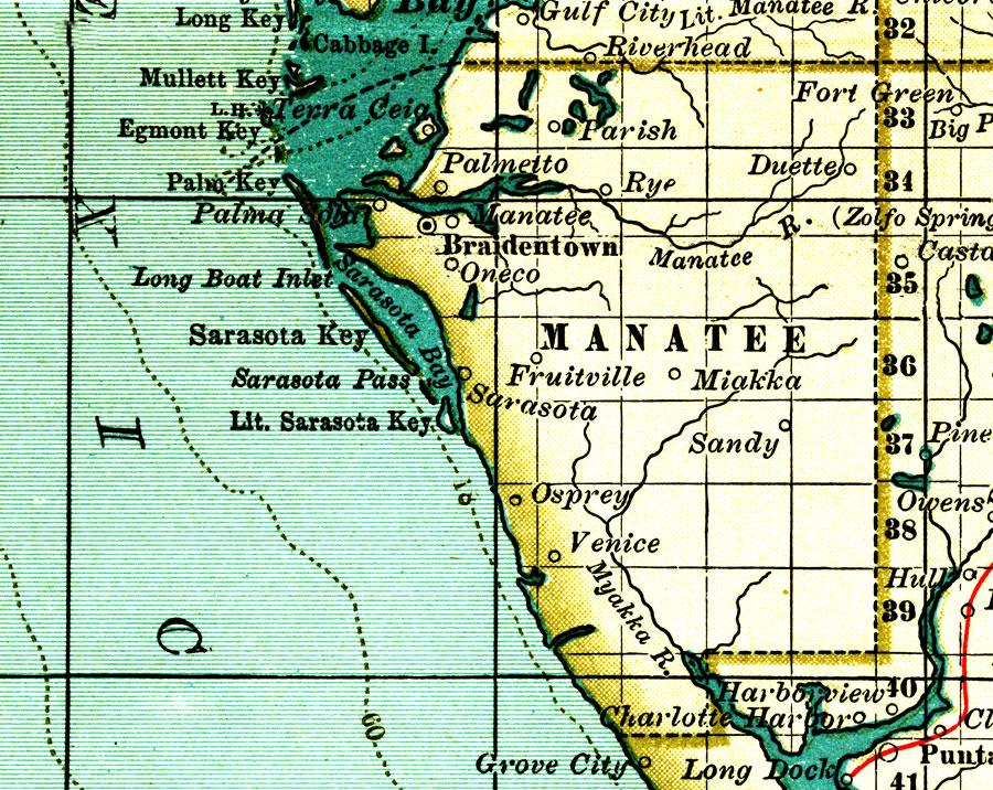 Myakka City Fl Boundaries