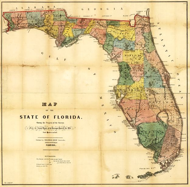 Map Of The State Of Florida - State of florida map