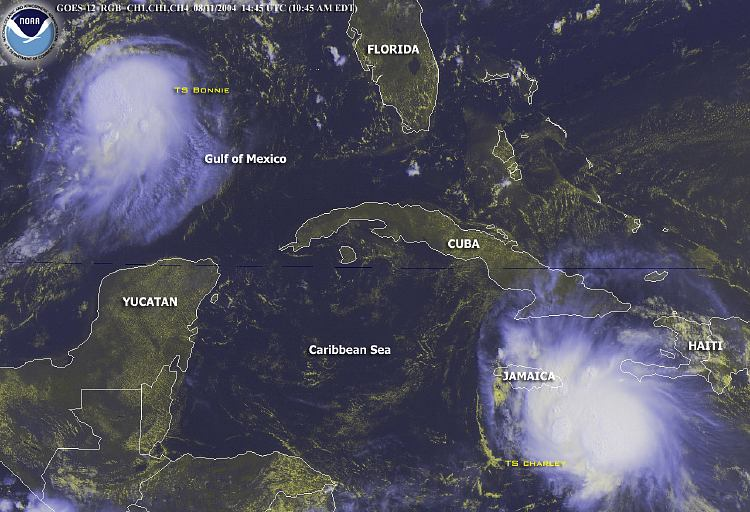 2 tropical storm charley Tropical storms and hurricanes which have spawned tornadoes as compiled by tom grazulis of the tornado project and bill mccaul of usra huntsville.
