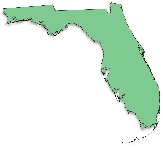Exploring Florida Map - Florida map state
