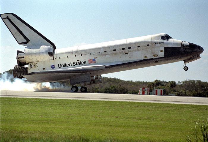 美国航天飞机发射,着陆全过程