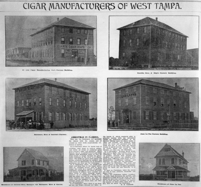 cigar manufacturers of west tampa. Black Bedroom Furniture Sets. Home Design Ideas
