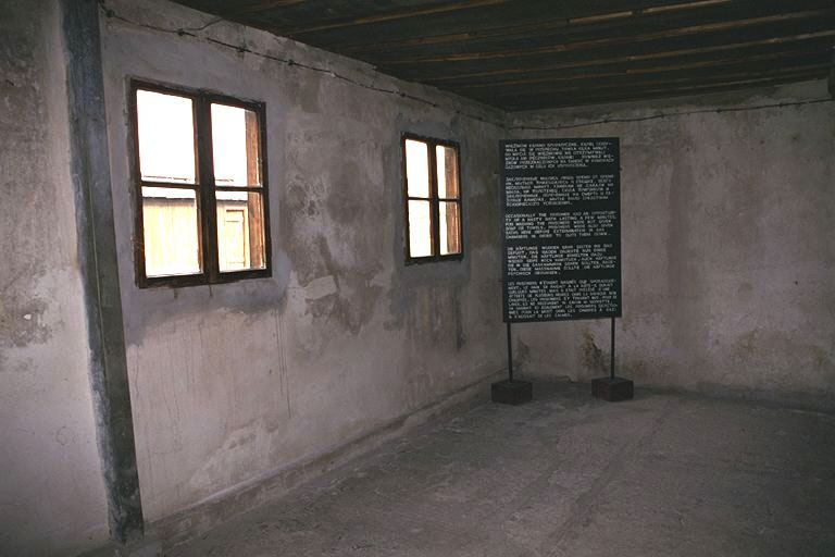 Majdanek death camp gas chamber for Camp du struthof chambre a gaz