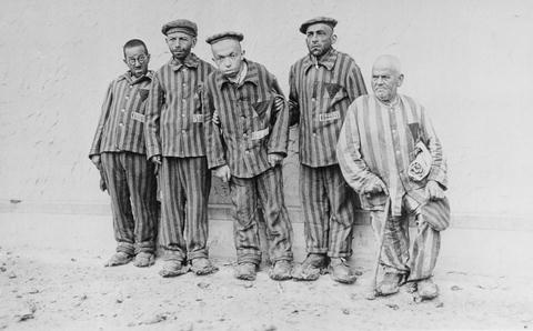 Five Handicapped Jewish Prisoners