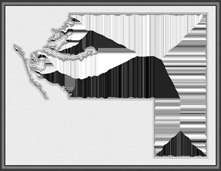 Manatee Fancy Frame Style Maps In 30 Styles