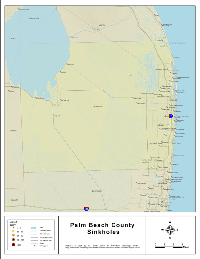 Palm Beach County Survey Department