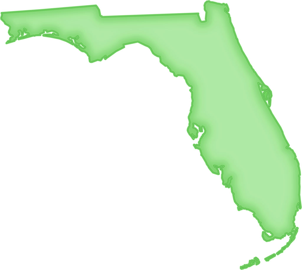 florida map outline png