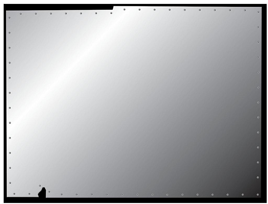 Desoto fun style maps 22 sheet metal for Plaque de plexiglas transparent castorama