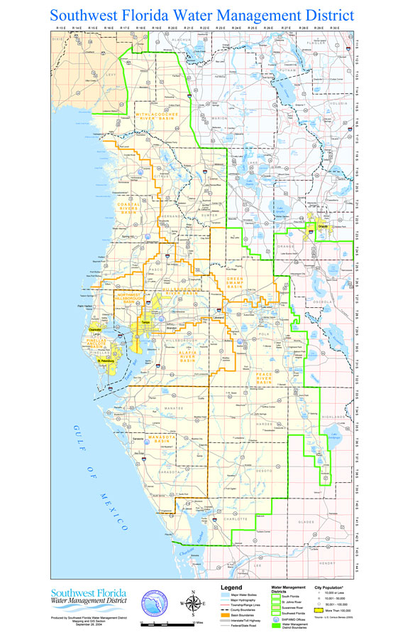 City Of New Port Richey >> Southwest Florida Water Management District, September 28, 2004