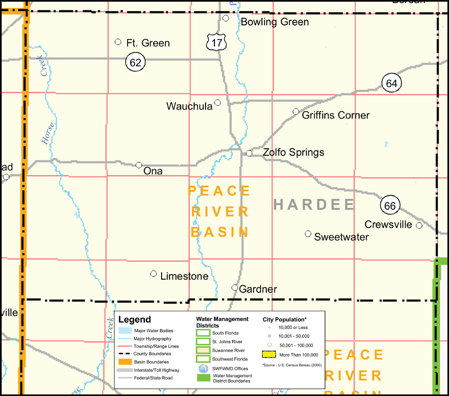 Southwest Florida Water Management District Hardee County