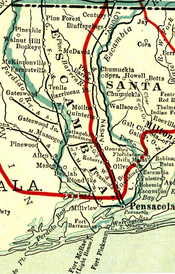 Easy Credit Auto >> Escambia County, 1917