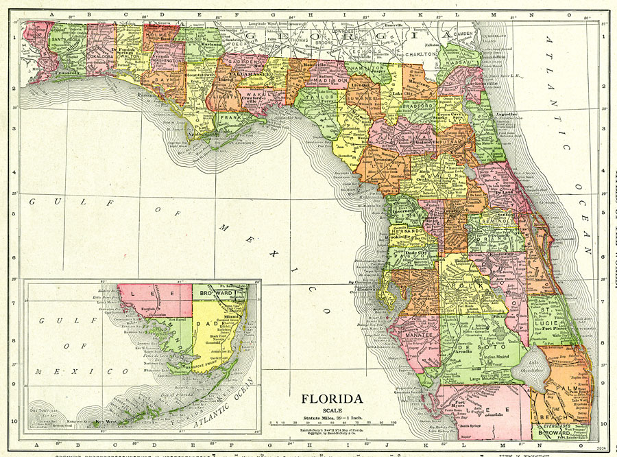 florida, 1917