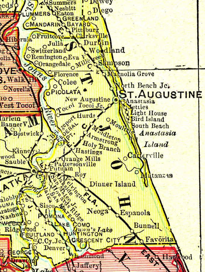 St Johns County 1899